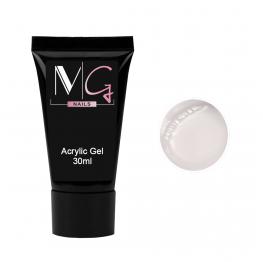 Акригель MG Acrylic Gel №01 Clear, 30 мл
