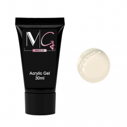 Акригель MG Acrylic Gel №02 White, 30 мл