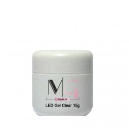 Гель для наращивания MG LED Gel Clear, 15 мл