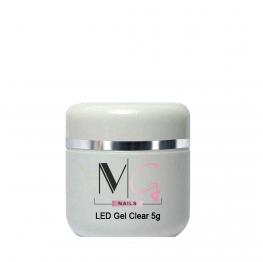 Гель для наращивания MG LED Gel Clear, 5 мл