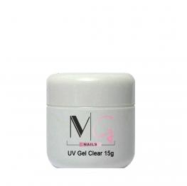 Гель для наращивания MG UV Gel Clear, 15 мл